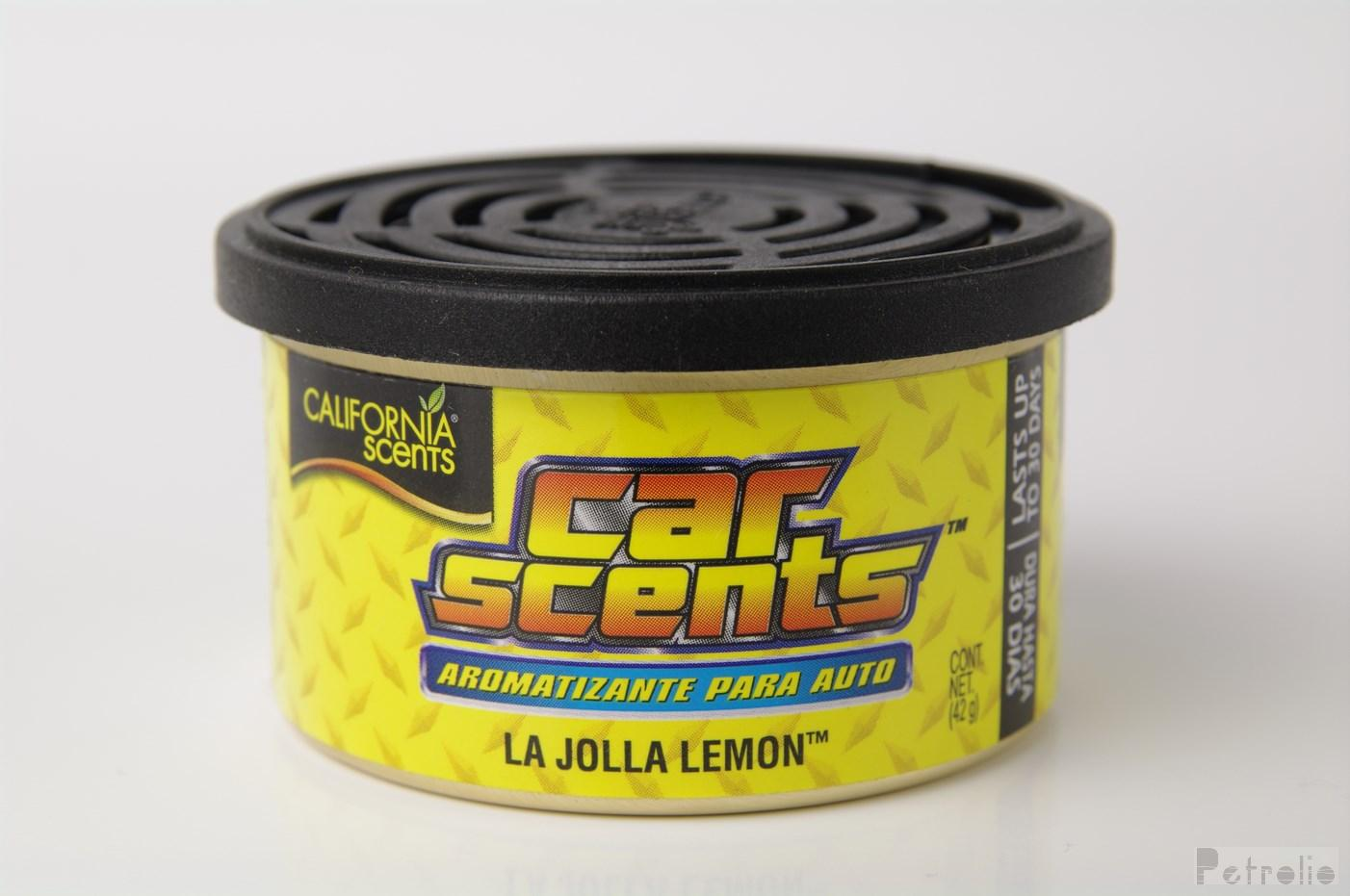 California Scents Car Scents - Citron (La Jolla Lemon)  42 g